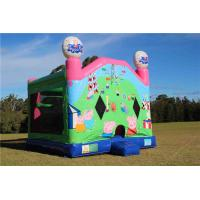 Wholesale PVC Outdoor Commercial Peppa Pig Inflatable Combo Jumping Castle For Fun Games from china suppliers