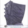 Regular G602 Flower Carved Granite tombstone for sale