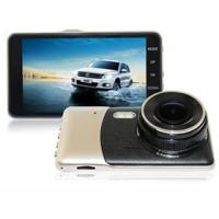 Wholesale Car Dashcam with 5M Pixel CMOS Sensor, Car DVR, Full HD 1080P, 4.0 Inch IPS LCD with Dual Lens for Front & Rear view from china suppliers