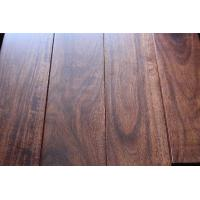 China Solid prefinished asian walnut flooring for sale