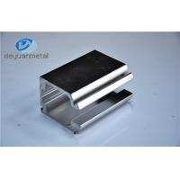 Wholesale 5.98 Meter Silver Polishing Standard  Aluminium Extrusion Profile For Building from china suppliers