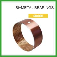China Bimetal Composite Bearings &  Spilt Oilless Bushes For Engineering Machinery on sale