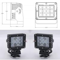 Wholesale 60W Square Vehicle LED High Power Driving Lights , 6500K 4800 Lumen 12 Volt Led Work Lights from china suppliers