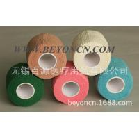 Wholesale Breathable Self adhesive Cotton Elastic Bandage Hand Tearable Latex free Bandage from china suppliers