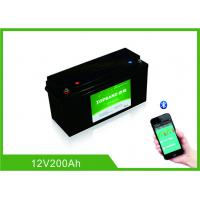 Buy cheap Lifepo4 Bluetooth Lithium Battery 12 Volt 200Ah 2000 Cycles Life With Heating from wholesalers