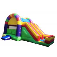 Wholesale Two in One Colorful Inflatable Combo / Bounce House Slide Combo With CE from china suppliers