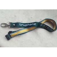 PP Material Promotional Printing Satin Lanyard With Custom Logo for sale