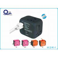 China Universal AC USB Power Charger Adapter With 5V 2.4A Dual USB Port for sale