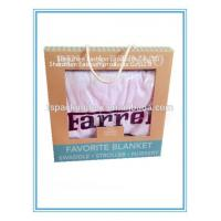 China Kids Blanket Recyclable Materials Long Service Life Kraft Paper Packaging Box for sale