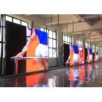 Wholesale 1R1G1B Stage 3.9mm Led Screen Rental Cabinet 500mmX500mm With Corner Protectors from china suppliers