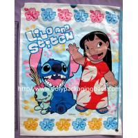 Wholesale Light Resistant Plastic Drawstring Bags With 7 Colors Gravure Printing from china suppliers