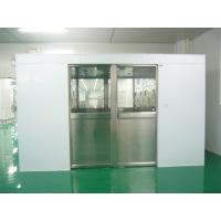 Wholesale Hidden Auto Cargo Tunnel Type Air Shower Clean Room With Double Leaf Sliding Doors from china suppliers