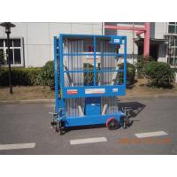 Buy cheap 8m Hydraulic Scissor Working Platform Double Mast For Window Cleaning from wholesalers