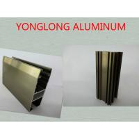 Wholesale Oxidizing Champagne Anodized Aluminum Profiles For Decoration / Industrial from china suppliers