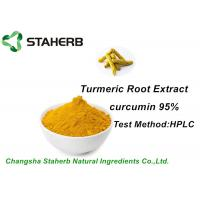 Wholesale Colorant Natural Food Additives Turmeric Root Extract Curcumin 95% HPLC from china suppliers