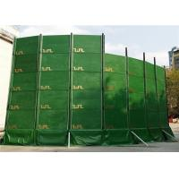 Wholesale Portable Noise Barriers 40dB noise absorption for Construction Site and Temporary Construction Fence from china suppliers