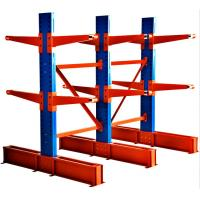 Buy cheap Long Pipes Adjustable Cantilever Racking System For Industrial Warehouse from Wholesalers