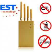 Wholesale Mini Satellite GPS Signal Jammer / Blocker EST-808KF For Vehicles , 30dBm from china suppliers