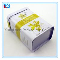 Wholesale metal coffee tin box/ tea box /XL-1098 from china suppliers
