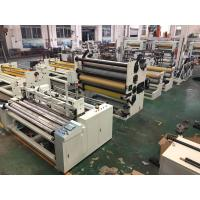 China Toilet Tissue / Kitchen Towel Rewinding Machine With High Speed Economical on sale