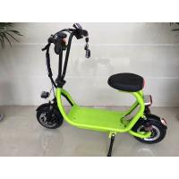 Buy cheap Mini ELithium Electric Scooter With Seat HALI With Candy Colour / 350w Motor from wholesalers