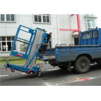 Quality 7.6 Meter Platform Height Truck Mounted Aerial Platforms Vertical For Factories for sale