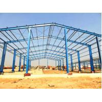 China Prefab Structure Steel Buildings Material Warehouse Light Steel Frame Structure for sale