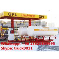 Wholesale 26ton skid-mounted lpg gas filling plant, hot sale 26metric tons skid lpg filling station with automatic lpg dispensers from china suppliers
