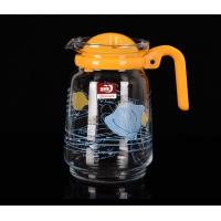 Wholesale Personalized Glass Water Kettle Glass Teapot And Cup Set Multi Purpose 1550 ML from china suppliers