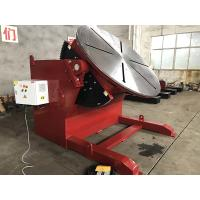 China 10 T 2 Axies Welding Turn Table , Foot Pedal Tilting Rotation Arc Welding Table on sale