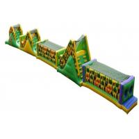 Wholesale Colorful Inflatable Obstacle Course , Water Obstacle Course For Rent from china suppliers