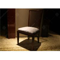 Wholesale Highly Endurable Restaurant Hotel Room Chairs Solid Wood Simple Style Customized from china suppliers
