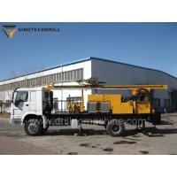 Truck Mounted Water Well Drilling Rig TDW400C Mud - Air Dual Purpose