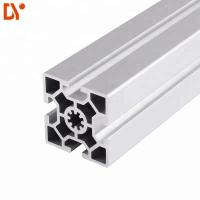 Wholesale Square 6063 Extrusion Aluminium Tube Sections , Customized V Slot Aluminum Profile from china suppliers