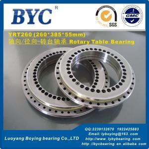 China Torque Motor Driven Rotary Table Use Bearings YRT260  260X385X55mm on sale