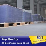 China PLASTICLENTICULAR Large Format Lenticular Sheet 40 LPI Lenticular Plate Lens 3D Material Factory for sale