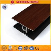 Wholesale Wood Grain Stereoscopic Aluminum Window Profiles Environmental Protection from china suppliers