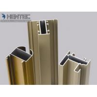 Wholesale Gold Anodized Aluminum Window Extrusion Profiles , Extruded Aluminum Window Frame from china suppliers