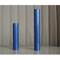 Wholesale Colorful carbon fiber tubes  blue& yellow&red carbon fiber tube from china suppliers
