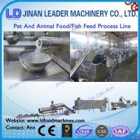 Wholesale Pet and animal food process line  snacks food processing line from china suppliers