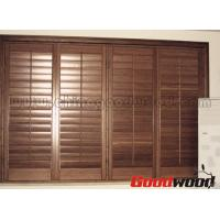 Wholesale Adjustable Louver Window Plantation Basswood Shutter from china suppliers