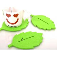 Quality High Quality Cheap Customized Eco-friendly Felt Coasters for sale
