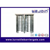 China Subway , Metro Turnstile Entry Systems / Stainless Steel Controlled Access Turnstiles on sale