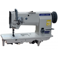 Wholesale 2200RPM DP17 Compound Feed Double Needle Sewing Machine from china suppliers