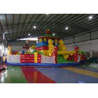 Vivid Waterproof Inflatable Toddler Playground , Inflatable Amusement Park