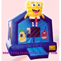 Hot Sale Giant Spongebob Inflatable Castle Bouncer And