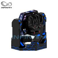 Quality 1080 Degree Rotating Spin 9D VR Chair Simulator 2 Seats Virtual Reality Roller for sale