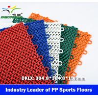 Basketball Court PP Sport Floor, Competitive Price, basketball Court Floor China for sale