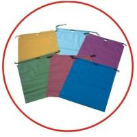 Wholesale Colourful Plastic Drawstring Carrier Bags For Apparel / Garments / Clothing from china suppliers