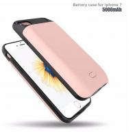 Wholesale 2017 External Backup Battery Charger Case for iPhone 7 Slim battery Power Bank from china suppliers